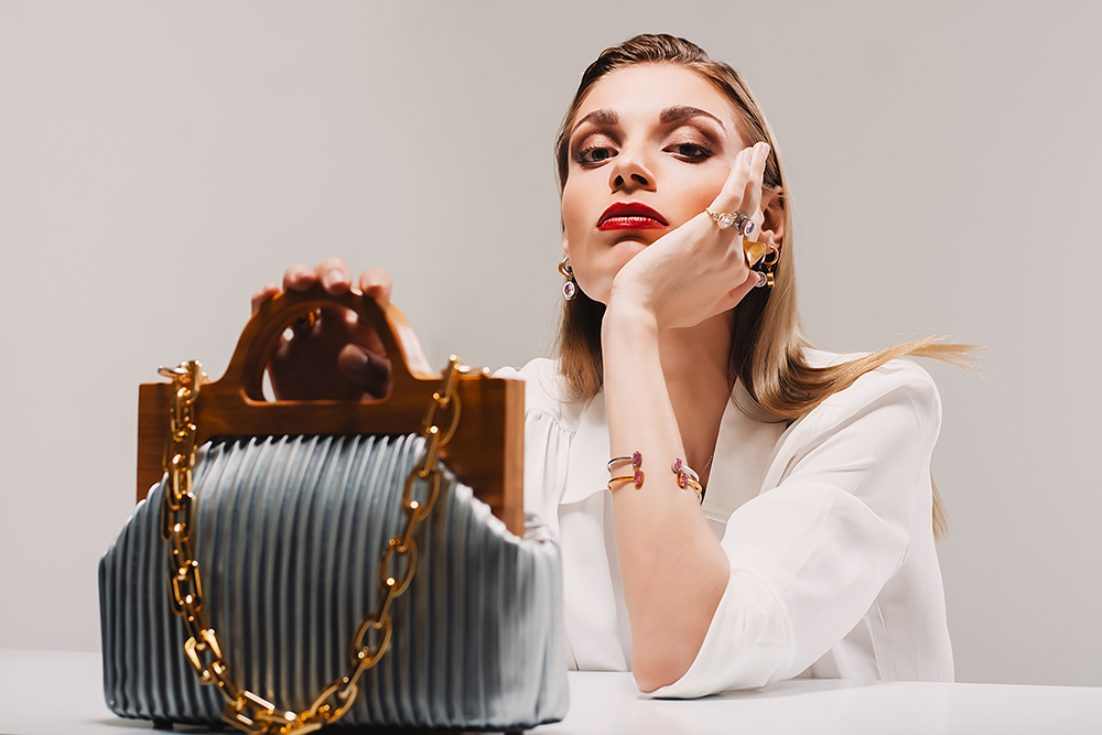 Nicolaos Jewelry campaign - φωτογραφική καμπανια